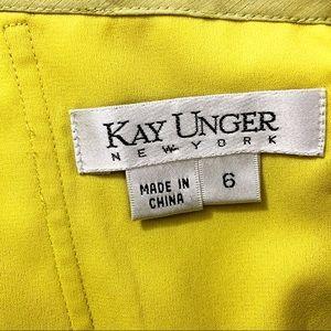 Kay Unger Dresses - Kay Unger Green Beaded Halter Dress Size 6